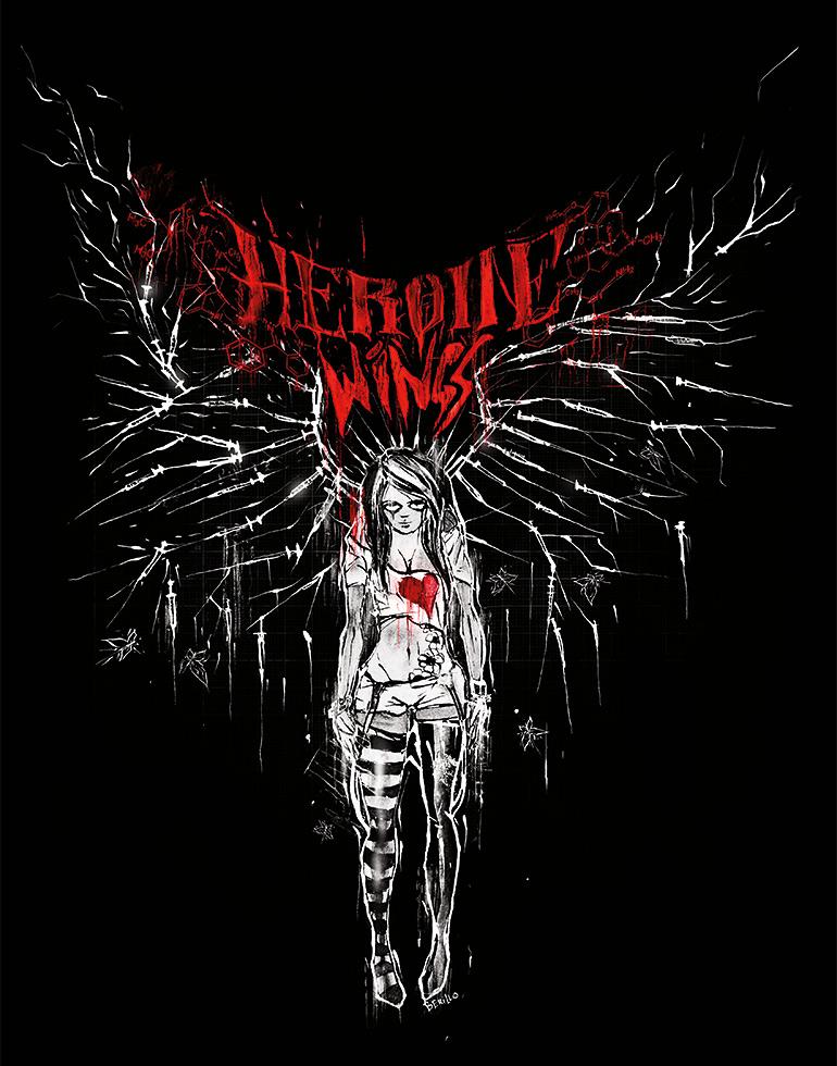 Heroine Wings / Frontprint